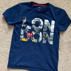 Disney Mickey Mouse London T-Shirt Size Small